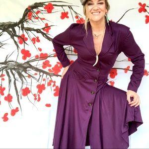 Stunning vintage 80s full skirt maxi dress 6